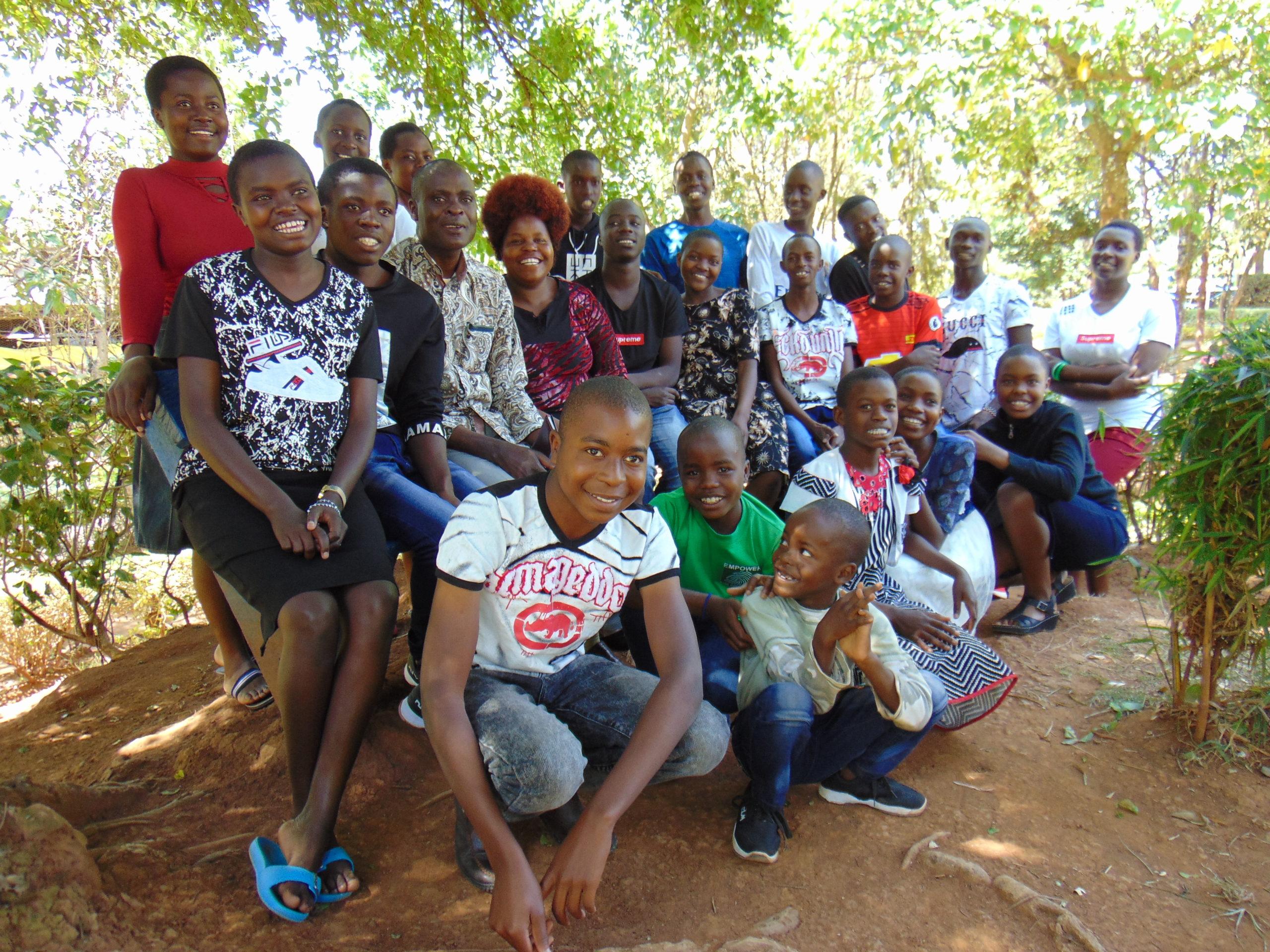 Walter and Alice Juma's Family